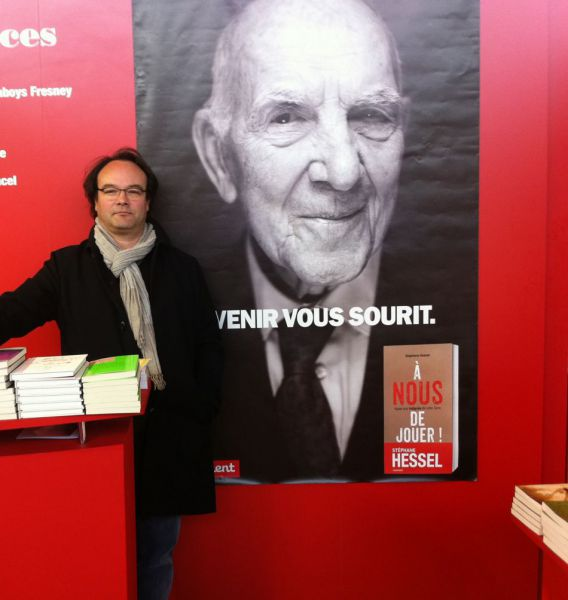 Roland Merk Salon du livre Paris